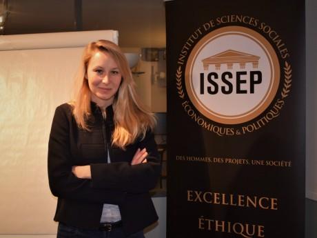 Marion Maréchal, directrice de l'ISSEP - LyonMag