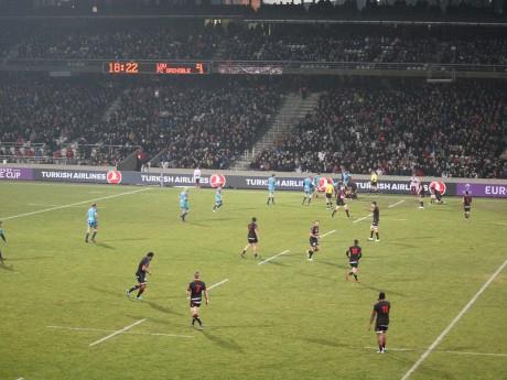 Le LOU lors de son premier match à Gerland face à Grenoble - LyonMag