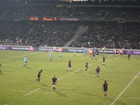 Le LOU Rugby joue à Gerland depuis le mois de janvier - LyonMag
