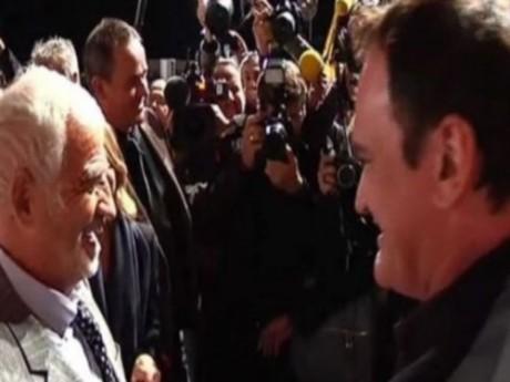 Bébel et Tarantino - Capture d'écran BFMTV