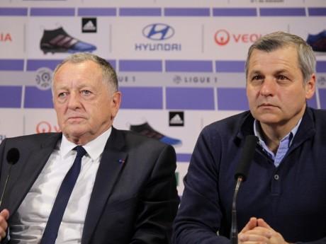 Jean-Michel Aulas et Bruno Genesio - Lyonmag.com