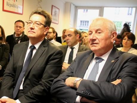 Philippe Cochet et Michel Forissier - LyonMag.com