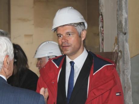Laurent Wauquiez veut imposer le français sur les chantiers de la Région - LyonMag