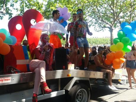 Photo de la Gay Pride de Lyon en 2017 - LyonMag
