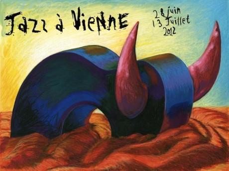 L'affiche de l'édition 2012 du festival Jazz à Vienne - DR