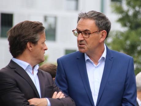 Thomas Rudigoz et David Kimelfeld - LyonMag