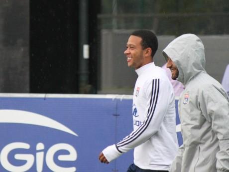 Memphis tout sourire à l'entraînement - LyonMag