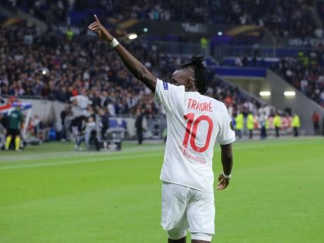 Bertrand Traoré a montré de belles choses contre Lille - LyonMag