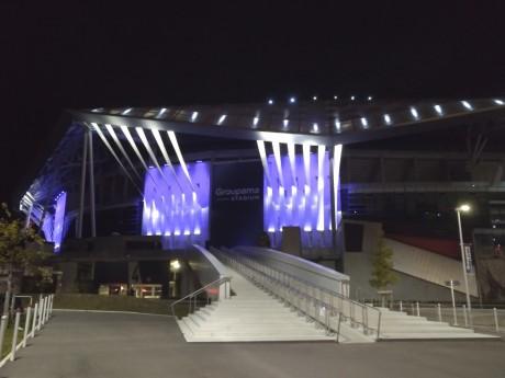 Le Groupama Stadium et ses éclairages - LyonMag