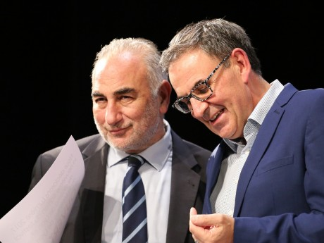 Georges Képénékian et David Kimelfeld - LyonMag
