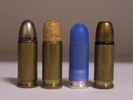 Des balles d'un calibre 7.65, comme celle qui a failli coûter la vie au Dardillois - DR