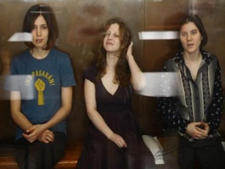 Trois des membres des Pussy Riot arrêtés en Russie - DR