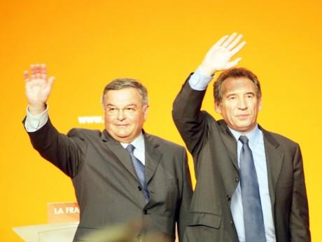 Michel Mercier et François Bayrou - Archives LyonMag
