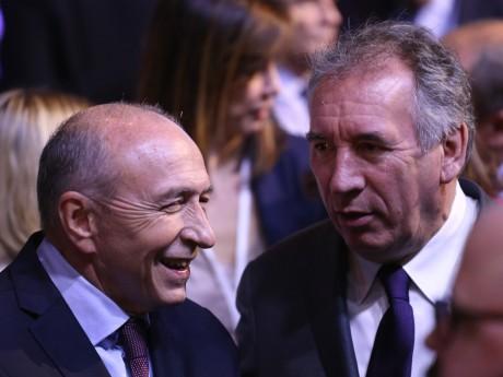 Gérard Collomb et François Bayrou - LyonMag