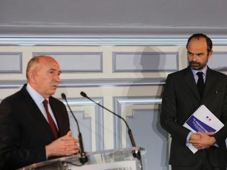 Gérard Collomb et Edouard Philippe - LyonMag