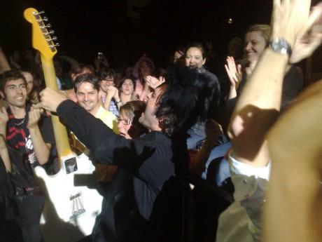 -M- dans le public des Nuits en 2010 - Lyonmag