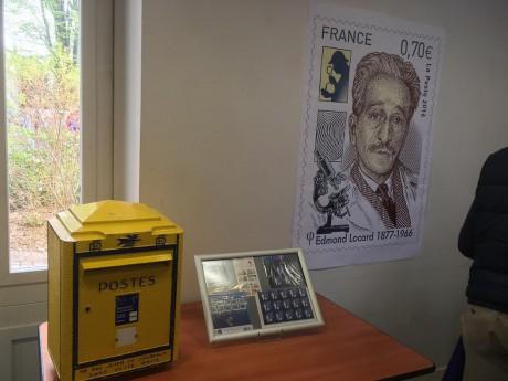 Poste provisoire et timbre à l'effigie d'Edmond Locard - LyonMag
