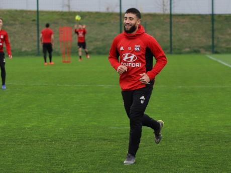 Nabil Fekir de retour à l'entrainement- LyonMag