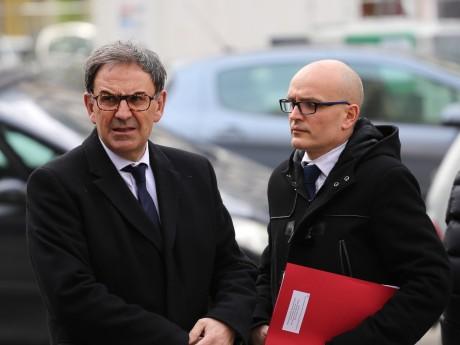 David Kimelfeld et son directeur de cabinet Jérôme Payen - LyonMag