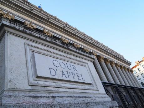 C'est sur le parvis de la cour d'appel de Lyon que la manifestation se déroulera - LyonMag