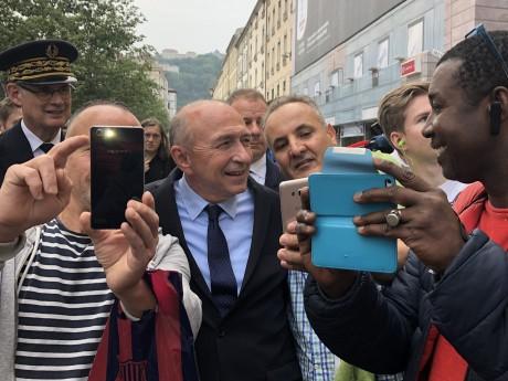 Gérard Collomb avec des gens qui le connaissent, à Lyon forcément - LyonMag