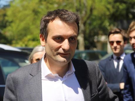 Florian Philippot lors de sa visite du Mémorial Jean Moulin à Caluire - LyonMag