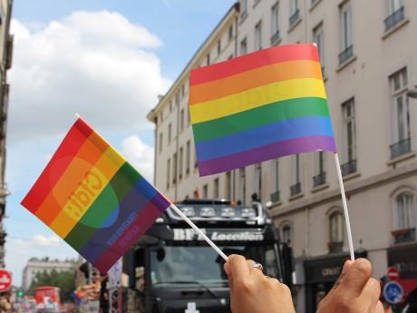 Photo de la gay pride 2018 - LyonMag.com