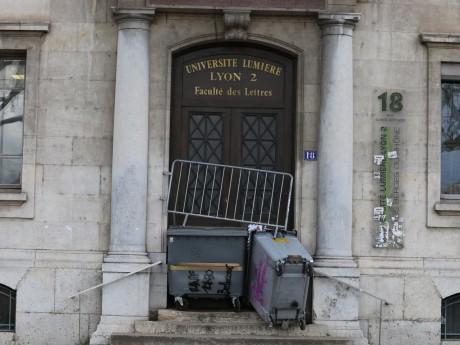 L'université Lyon 2 bloquée - LyonMag