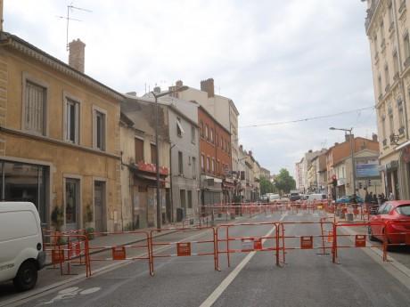 La route de Vienne barrée - LyonMag