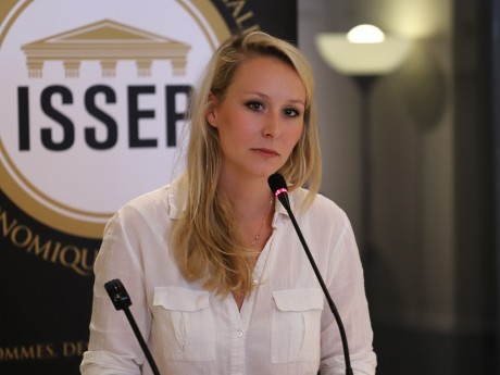 Marion Maréchal à l'ISSEP - LyonMag