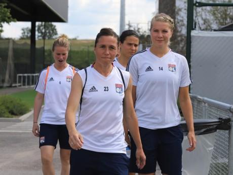 Les Lyonnaises à l'entrainement - LyonMag.com