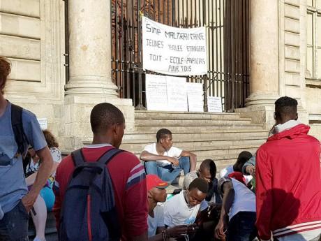 Les mineurs isolés ont déjà manifesté à plusieurs reprises à Lyon - LyonMag
