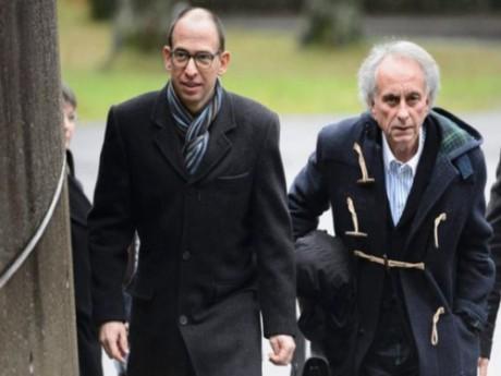 Laurent Ségalat (à gauche) n'était pas présent lors de l'annonce du verdict - DR AFP