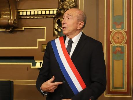 Gérard Collomb ce lundi matin - LyonMag