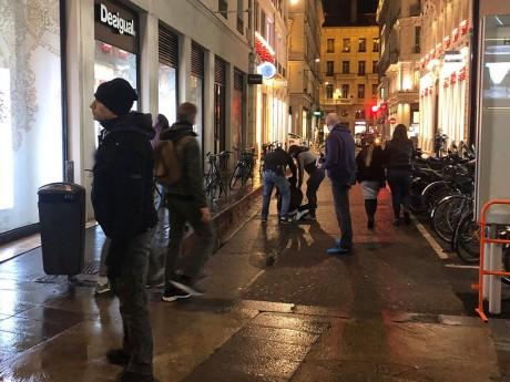 L'interpellation du jeune casseur samedi - LyonMag