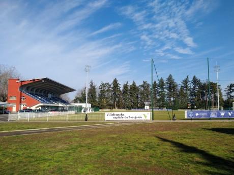 Le stade Armand-Chouffet, où le supporter avait envahi la pelouse - LyonMag