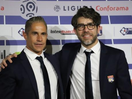 Sylvinho et Juninho - LyonMag