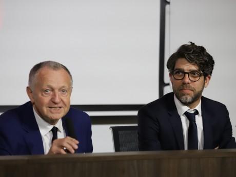 Jean-Michel Aulas et Juninho - LyonMag