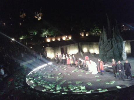 Ovation lyonnaise pour le Cyrano de Lavaudant à Fourvière - LyonMag