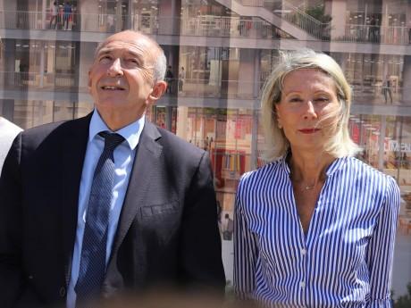 Gérard Collomb et Myriam Picot - LyonMag