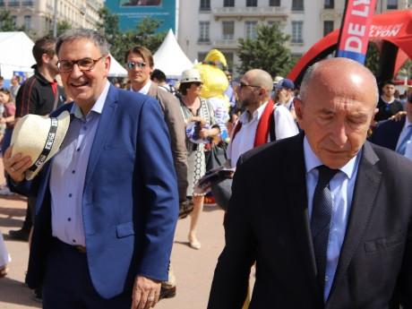 David Kimelfeld et Gérard Collomb - LyonMag