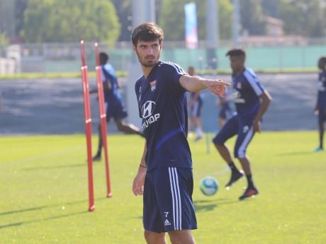 Martin Terrier à l'entraînement - LyonMag.com