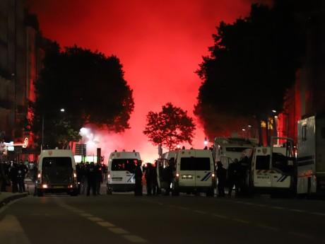 La fête après la victoire de l'Algérie - LyonMag