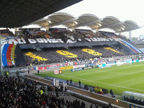 Le second tifo des Bad Gones - Photo LyonMag