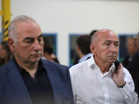 Georges Képénékian et Gérard Collomb - LyonMag