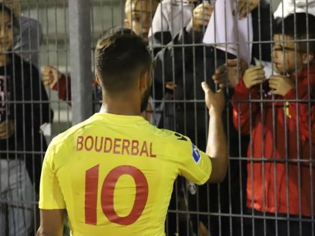 Bouderbal, buteur félicité à la Duch' - LyonMag