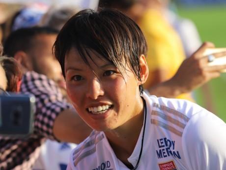 Saki Kumagai, unique buteuse du match - LyonMag