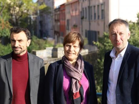 Grégory Doucet, Béatrice Vessiller et Bruno Bernard - LyonMag