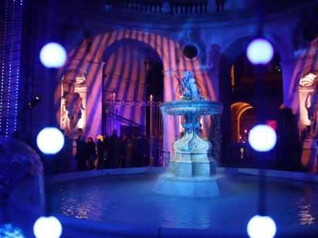 Le spectacle dans la cour de l'Hôtel de Ville - LyonMag
