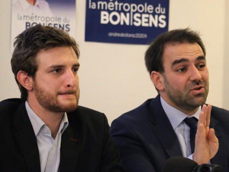 Andrea Kotarac, comme Antoine Mellies, sont encore en lice au second tour des métropolitaines dans leurs circonscriptions - LyonMag